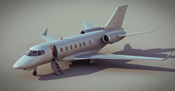 DOSCH 3D: Business Jet Details V2