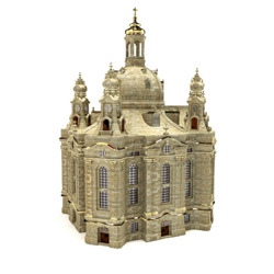 DOSCH 3D: Frauenkirche in Dresden, Germany
