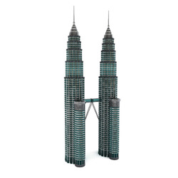 DOSCH 3D: Petronas Towers